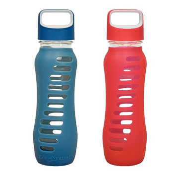 Eco Vessel Surf Glass Bottle With Silicone Sleeve