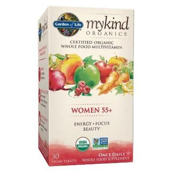 Garden of Life My Kind Organic Women's 55+ Multivitamin Tablets - 30ct