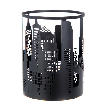 Better Homes and Gardens Cityscapes Metal Candle Sleeve