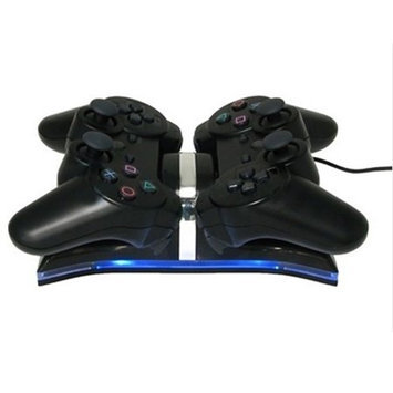 Hde Dual Charging Station compatible with Sony PS3 Controllers