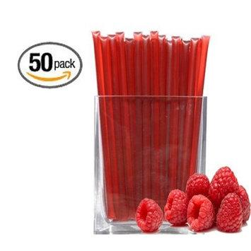 Raspberry Honeystix - Flavored Honey - Pack of 50 Stix - 250g