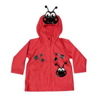 Western Chief Little Girls' Ladybug Rain Jacket