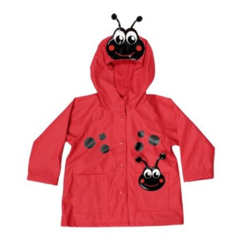 Western Chief Little Girls' Ladybug Rain Jacket