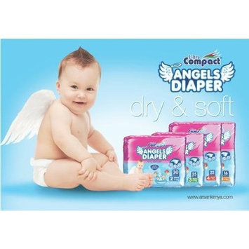 Angel Baby Diapers Small Size # 2 (120 Count) 4x30 count