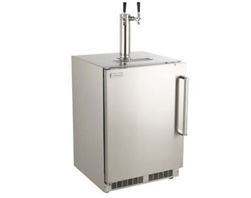 Fire Magic New Outdoor Rated Right Swing Kegerator with Handle