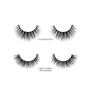 Velour Lashes - Hooded Eye Shape Kit (2 Pairs of Mink Lashes) - Fake/False Natural Eyelashes - Long Lasting 25+ Applications - Natural & Lightweight - Ethically Sourced - Easy Application