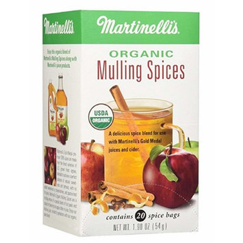 Martinelli's Organic Mulling Spices - 2 Pack of (1.9 oz - 20 Count)