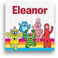 Personalized Yo Gabba Gabba! Rainbow 16