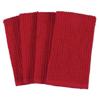 KAF Home Pantry Bar Mops Set Of Four, Red