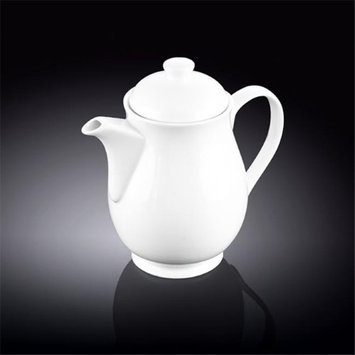Wilmax 994038 1100 ml Tea Pot White - Pack of 18