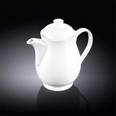 Wilmax 994038 1100 ml Tea Pot White - Pack of 18