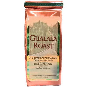 Ayurvedic Herbal Coffee Alternative - Gualala Roast - Capomo (Maya Nut) | Ashwagandha | Chicory - Caffeine Free & Low Acidity - 11 Oz