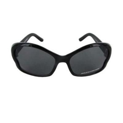 Skechers Girls SK 6008 Childs Fashion Sunglasses, Black