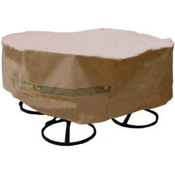 SURE FIT Round Table and Chair Set Cover