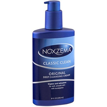 Noxzema Clean Moisture Deep Cleansing Cream 8 oz (Pack of 5)