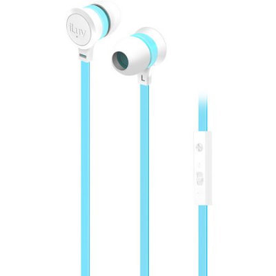 iLuv IEP336WBLN Neon Sound Highperform Earphoneaccs