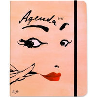 kate spade new york Read My Lips Large Concealed Spiral Agenda