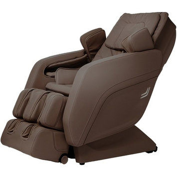 Titan TPPRO8300B Model TP-Pro 8300 Massage Chair in Brown, Computer Body Scan & S-Track Massage, Zero Gravity Massage, Auto Recline and Leg Extension, LED Chromotheraphy Lighting