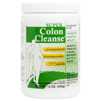 Health Plus Super Colon Cleanse, Powder Laxative, 12 Ounce