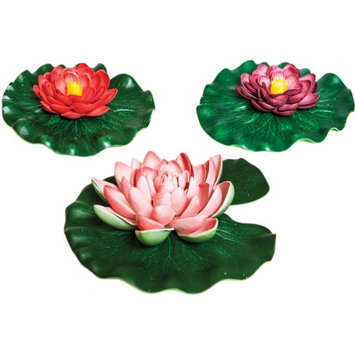 Geo Global Partners Llc Aquanique Floating Lily Pad Variety Pack