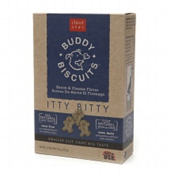 Cloud Star Buddy Biscuits, Itty Bitty Natural Biscuits Bacon & Cheese 8.0oz.