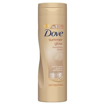 Dove Summer Glow Nourishing Lotion For Fair To Medium Skin