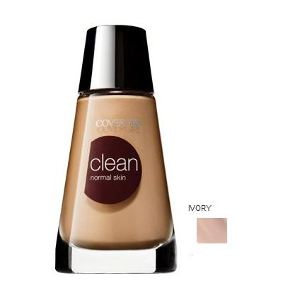 Covergirl Clean Makeup Makeup, Normal Skin, Ivory 105 - 1 Oz, 2 Pack