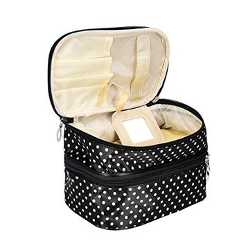 Womens Multi Functional Travel Cosmetic Storage Bags Women Makeup Organizer Toiletry Pouch