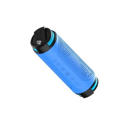 TechComm BT608K IPX6 Water-resistant Bluetooth Speaker with Powerbank and Shockproof, Dustproof and Anti-Scratch Design, for Music and Hands-free Calling
