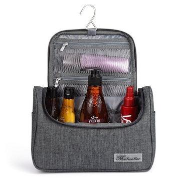 Toiletry Bag Waterproof Travel Makeup Organizer Bag Bathroom Storage Shaving Kit Toiletries Bag with Hanging Hook By Meluoher