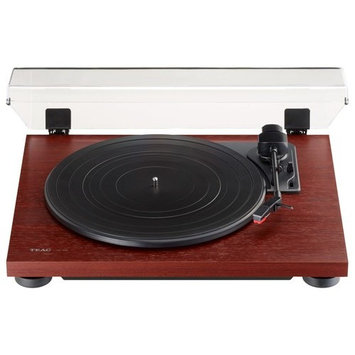 TN-100 Belt-Drive Stereo Turntable with Preamp and USB (Cherry)