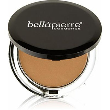 Bella Pierre Compact Mineral Foundation in Nutmeg, 0.35-Ounce