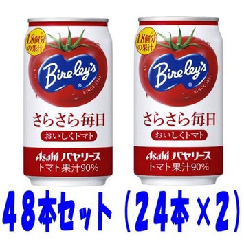 Asahi Bayarisu rustling every day delicious tomatoes 350g cans 48 set (24 X2)