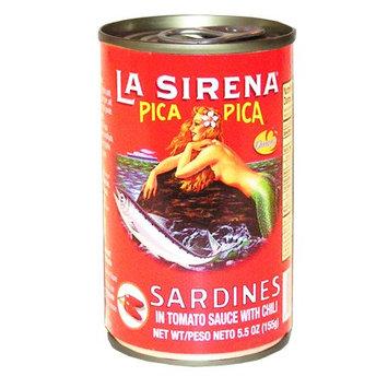 La Sirena Pica Pica Sardine 5.5 oz - Sardina (Pack of 15)