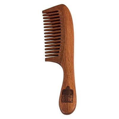 Groomed Gorilla Beard and Moustache Comb