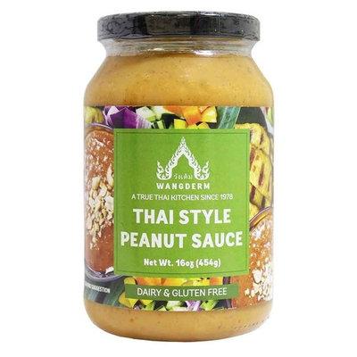 KC Commerce Wangderm Thai Style Peanut Sauce 16oz Pack of 2