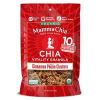 Mamma Chia Cinammon Pecan Clusters, 9 OZ
