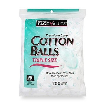 Harmon Face Values 200-Count Triple Size Cotton Balls