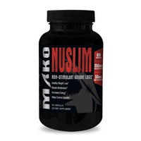 Mako Nutrition 326 Nuslim Non-stimulant Weight Loss of 60 Capsules -60 Servings