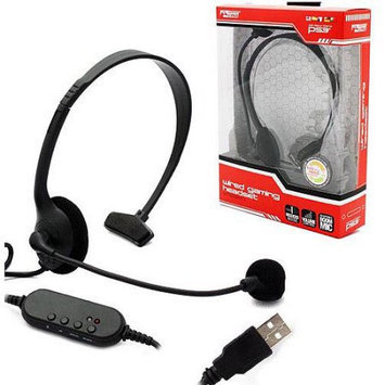 KMD (KOMODO) Wired Gaming Chat Headset for PS3