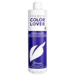 Framesi Color Lover Dynamic Blonde Violet Shampoo for Blonde/Grey Hair 16.9 oz