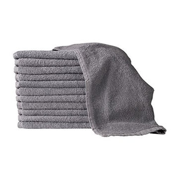 PREMIUM GRADE Gray Salon Towels 100% Cotton 16