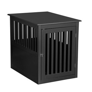 Pet Hup Hup PetHupHup Dog House Pet Chest End Table Black