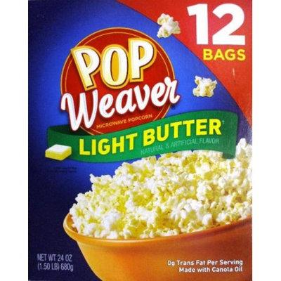 Pop Weaver Light Butter Microwave Popcorn