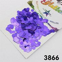 3866 Chunky Glitter Purple Blue Nail Body Eye Shadow Iridescent Cosmetic