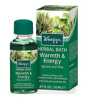 Kneipp Spruce and Pine Warmth & Energy Travel Size Bath Oil