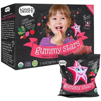 Nosh Gummy Stars Apple, Strawberry & Beet