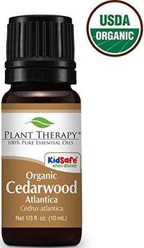 Plant Therapy Essential Oils USDA Certified Organic Cedar Wood Atlas Oil