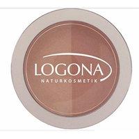 Logona Powder Blush Duo 03 Beige and Terracotta Natural 10 Grams