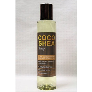 Bath & Body Works - CocoShea Honey - Lightweight Body Oil - 6.3 fl oz